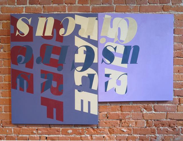 , 'Alliteration (Circus/Surface),' 2015, Resource Art