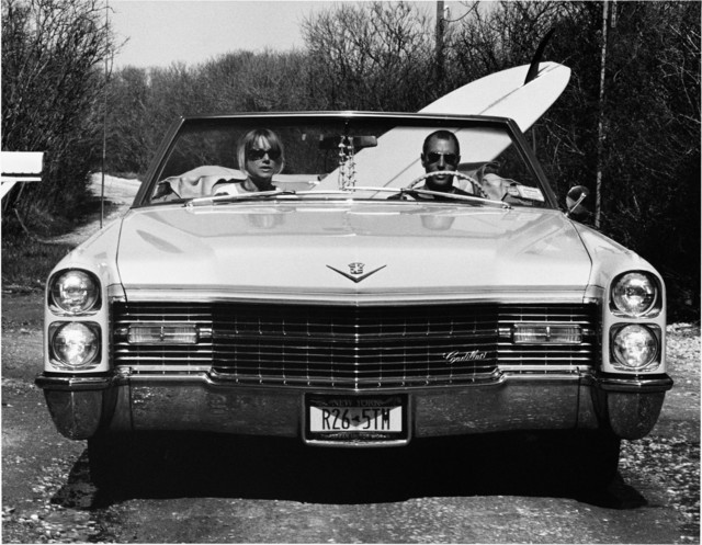 , 'David and Pam in their Caddy,' 2002, Roman Fine Art
