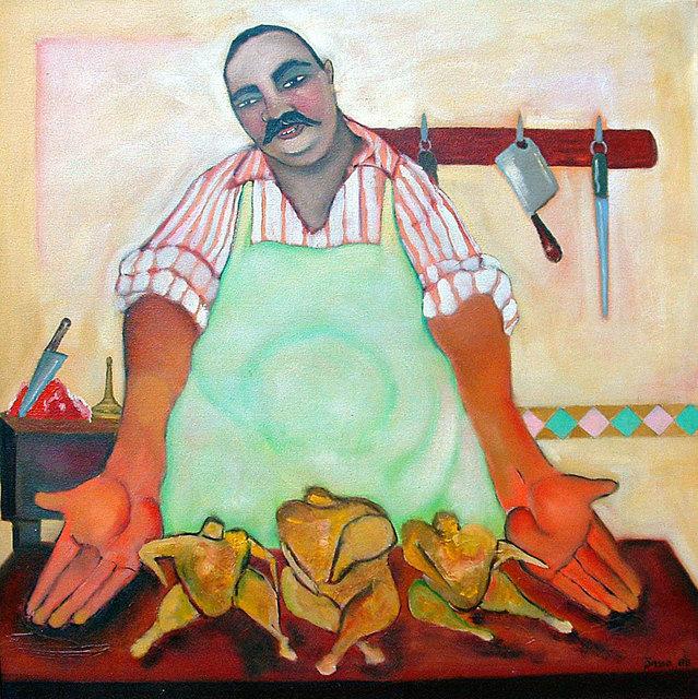 , 'Butcher,' ca 1998, Tabla Rasa Gallery