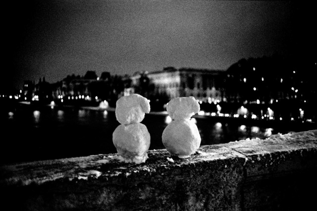 Jehsong Baak, 'Snowman and Snowwoman', 1999, Photography, Photography, FREMIN GALLERY