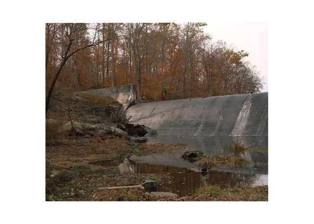 , 'Pocahontas State Park, Picture of the Dam. One Hundred and Thirty Days. (From the series Some Other Places We've Missed),' 2012, Cantor Fitzgerald Gallery, Haverford College