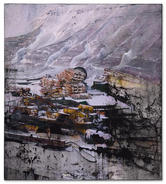 , 'Longyearbyen (mess),' 2016, Miller Yezerski Gallery