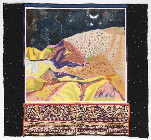 , 'Night Desert Kachch,' 2016, MARS