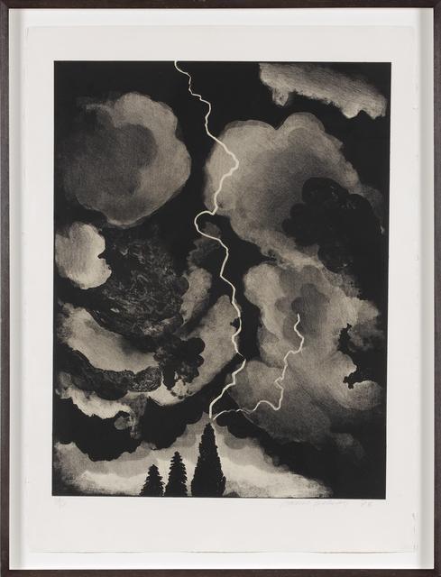 David Hockney, 'Study of Lightening Medium', 1973, Marlborough London