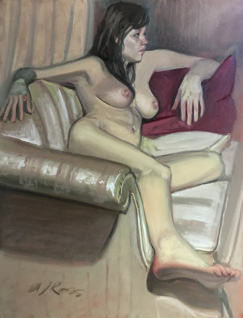 , 'Untitled (Reclining Nude on Couch),' , Ro2 Art