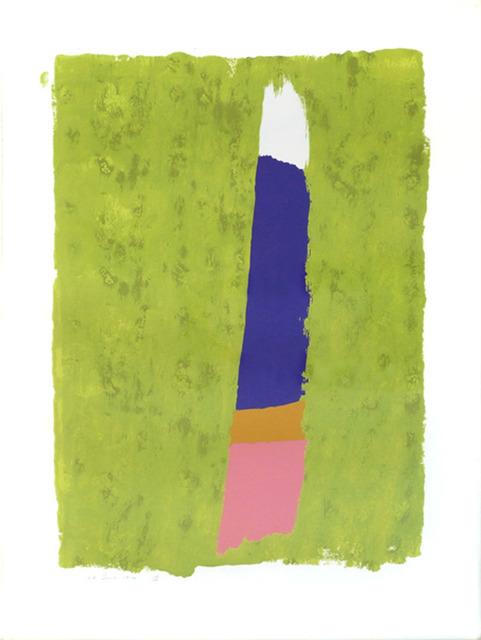Jack Bush, 'Purple Thrust', 1974, Print, Serigraph, Nikola Rukaj Gallery