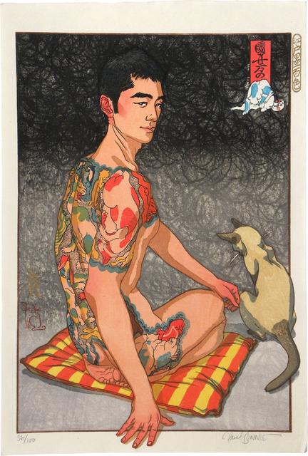 Paul Binnie, 'A Hundred Shades of Ink of Edo: Kuniyoshi's Cats', 2004, Scholten Japanese Art