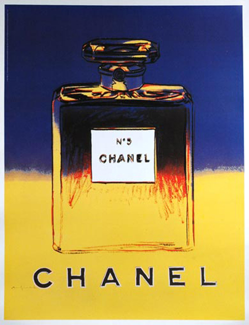 Andy Warhol, 'Chanel', ca. 1997, Print, Offset lithograph mounted on linen backing, EHC Fine Art Gallery Auction