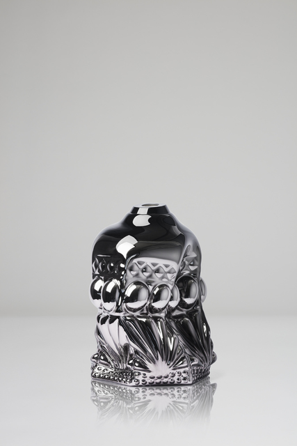 , 'Clam Print, silver metallic ,' 2018, CFHILL