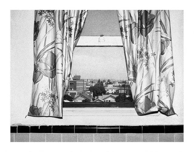 , 'Hollywood Suites Window 13,' 1977, Casemore Kirkeby