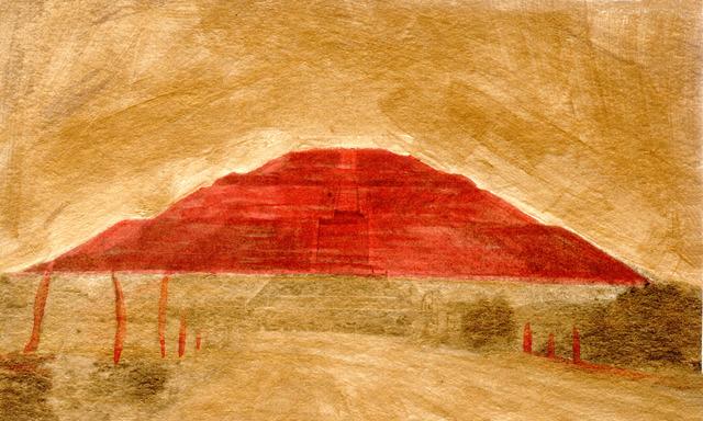 , 'Variaciones sobre la Pirámide del Sol No. 10,' 2018, Patricia Conde Galería