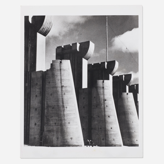 Margaret Bourke-White, 'Fort Peck Dam', Photography, Gelatin silver print on Baryta paper, Rago/Wright