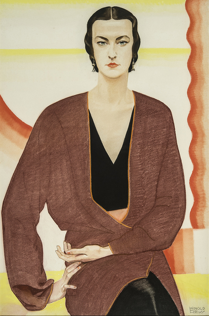 , 'Portrait of Miss C. Burton—Texas,' 1930, Hirschl & Adler Galleries