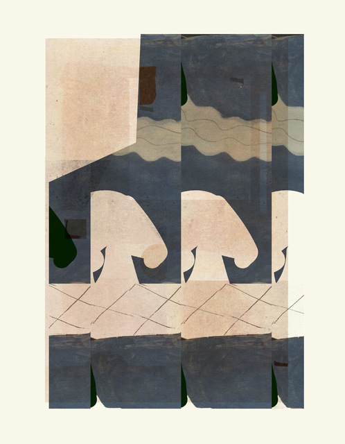 ALYSON FOX, 'Collage Sky', 2019, Print, Hahnemühle 100% cotton rag paper with archival epson inkjet pigments, ArtStar