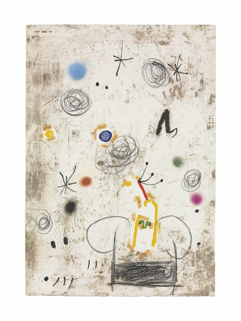 Joan Miró, 'Maquette for: Persontage I Estels III', 1979, Christie's