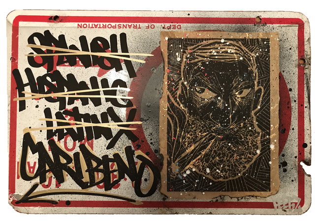 , 'Fuck the N,' 2012-2017, LatchKey Gallery
