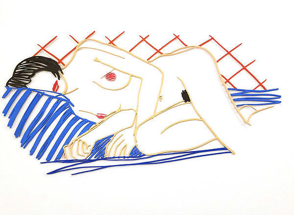 Tom Wesselmann, 'Monica Asleep on Blanket', Hamilton-Selway Fine Art