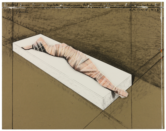 , 'Wrapped Woman,' 1968, MILL Contemporary