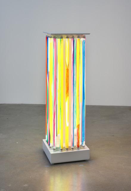 , 'Luminaire Delirium (Column #2),' 2013, Susanne Vielmetter Los Angeles Projects