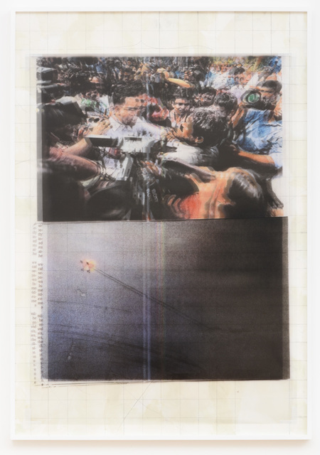 , 'Tumult (Macrofiche Series),' 2017, Samuel Freeman