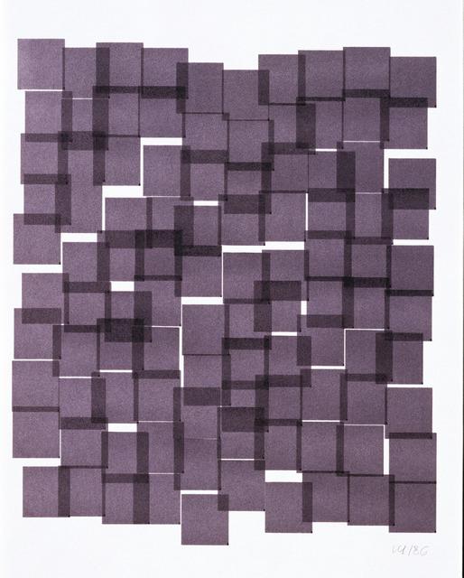 , 'Squares,' 1986, DAM Gallery