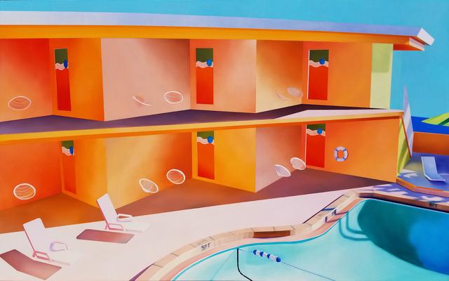 , 'Hotel Pool #8,' 2018, Roman Fine Art