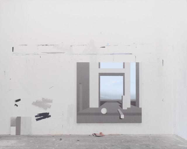 , 'Raum 985,' 2013, Galerie Nikolaus Ruzicska