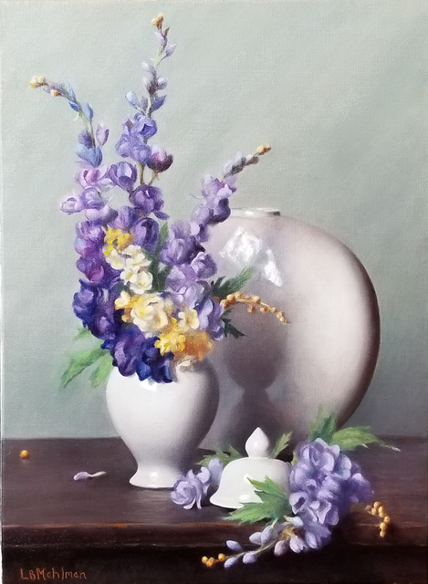 , 'Violet Reflections,' 2019, The Guild of Boston Artists