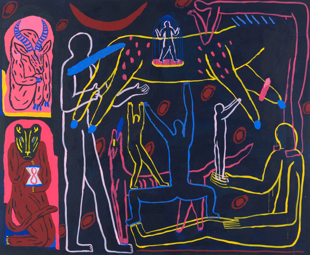 , 'Nuit,' 2018, Urban Spree Galerie