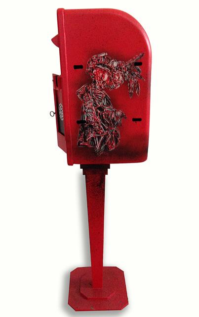 C215, 'Vanity' (postbox)', 2014, StolenSpace Gallery