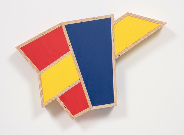 , 'Transitional Geometry in Red, Yellow and Blue (Figure 42),' 2018, Steve Turner