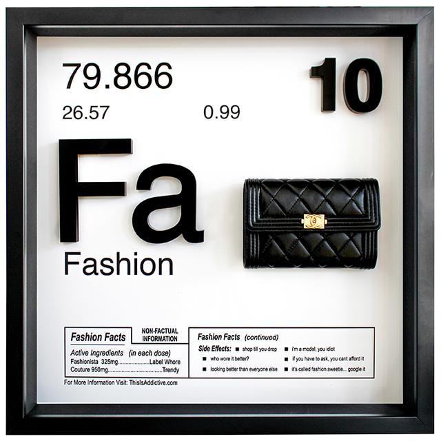 Daniel Cohen, 'Fashion (Fa - 10)', 2018, Samuel Owen Gallery