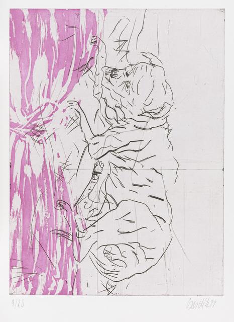 """Georg Baselitz, 'Jupiter, from """"Schlafende Hunde""""', 1998-1999, Gagosian"""