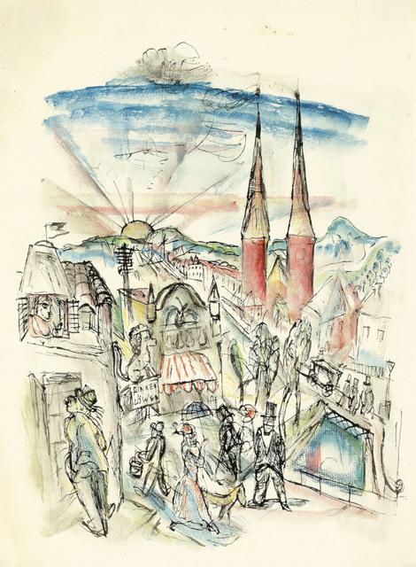 Wilhelm Thöny, 'A Dream from the Time in Switzerland', 1919, Galerie Bei Der Albertina Zetter