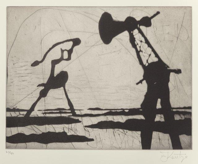 William Kentridge, 'Zeno Writing (Ponytail)', 2002, Heritage Auctions
