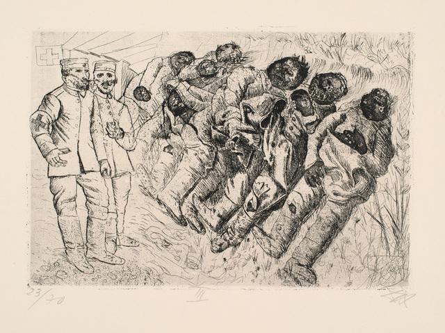, 'Gastote (Templeux-la-Fosse, August 1916),' 1924, Charles Nodrum Gallery