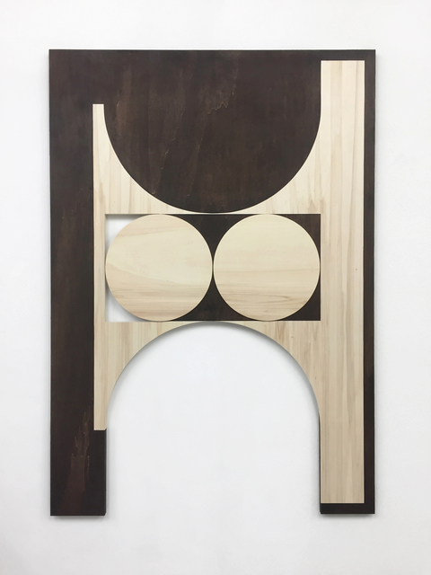 Louis Reith, 'Untitled', 2018, Painting, Soil on wooden panel, Massey Klein Gallery