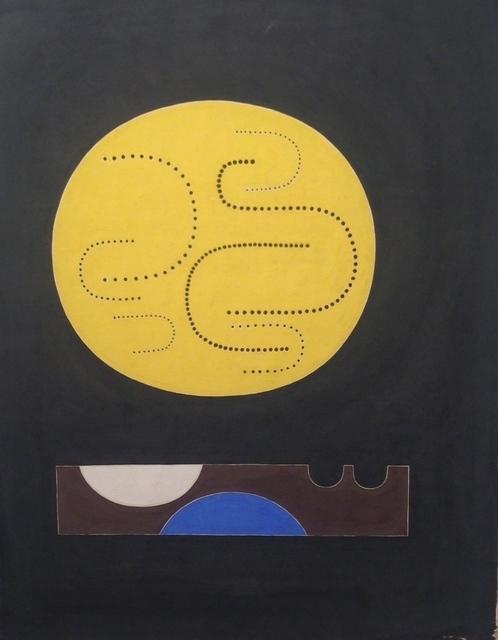 , 'Untitled PL-38,' 1948, Hostler Burrows