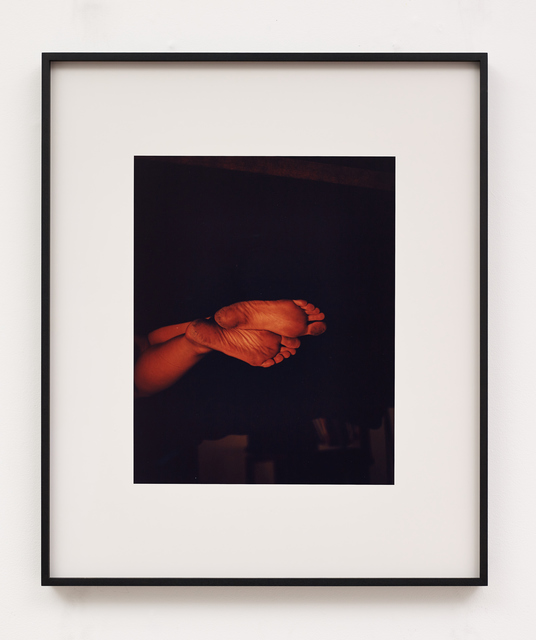 , 'Cartographies (Feet),' 2017, Galerie Greta Meert