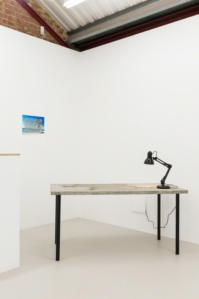 Installation view, Olivia Strange 'Cacotopia' at Annka Kultys Gallery, London, 2017 Photo: Annka Kultys Gallery (Damian Griffiths)