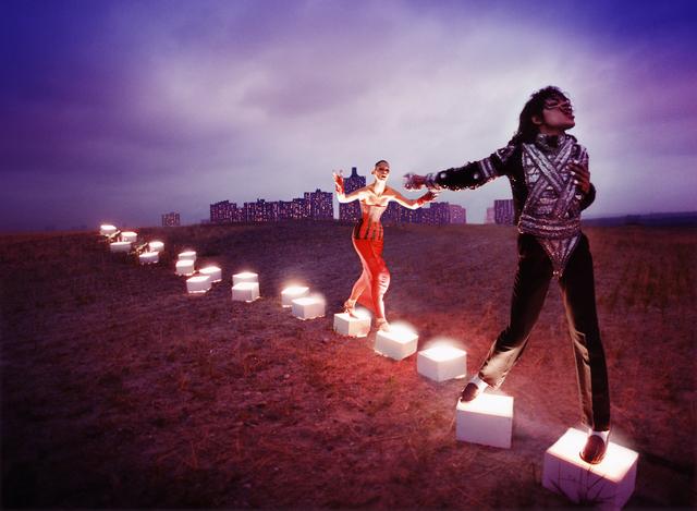 , 'Michael Jackson: An Illuminating Path,' 1998, Staley-Wise Gallery