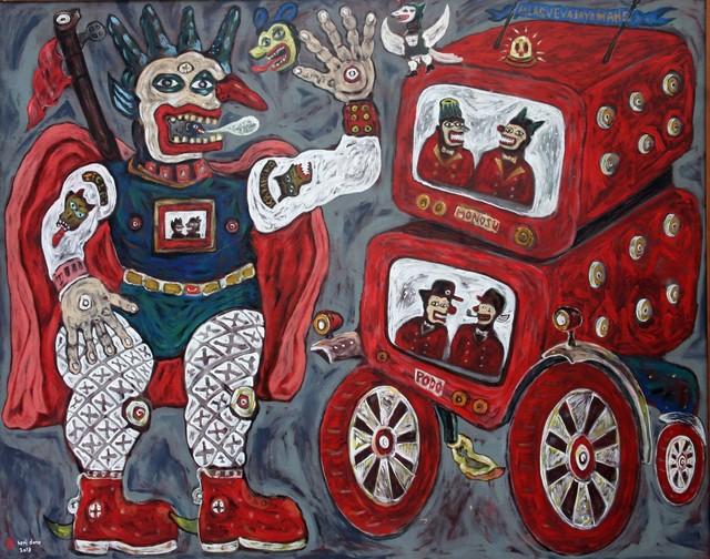 , 'Jalasveva Jaya Mahe,' 2013, Tyler Rollins Fine Art