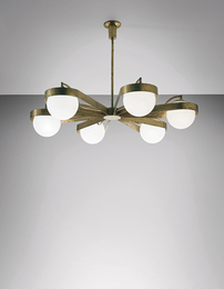 Arredoluce, 'Rare chandelier,' 1950s, Phillips: Design