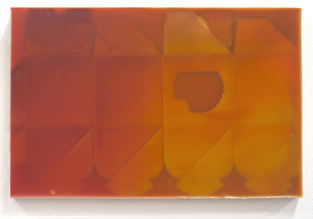 , 'Elanis 07 (framed waxwork),' 2018, Front Room Gallery