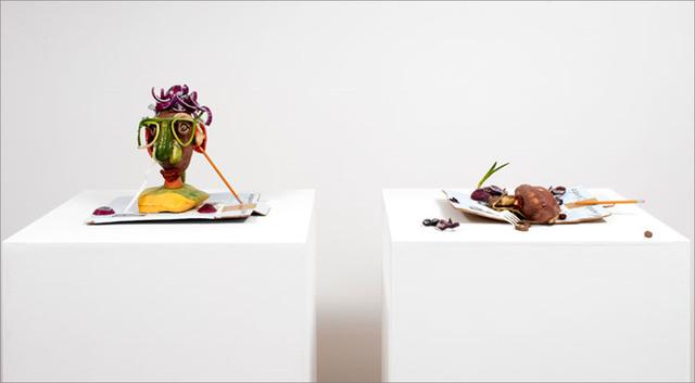 , 'Double Veg Head 2,' 2008, The FLAG Art Foundation