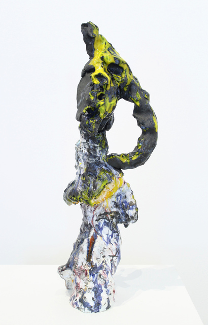 , 'PushMoon2, Black Mask 1,' 2015, James Harris Gallery