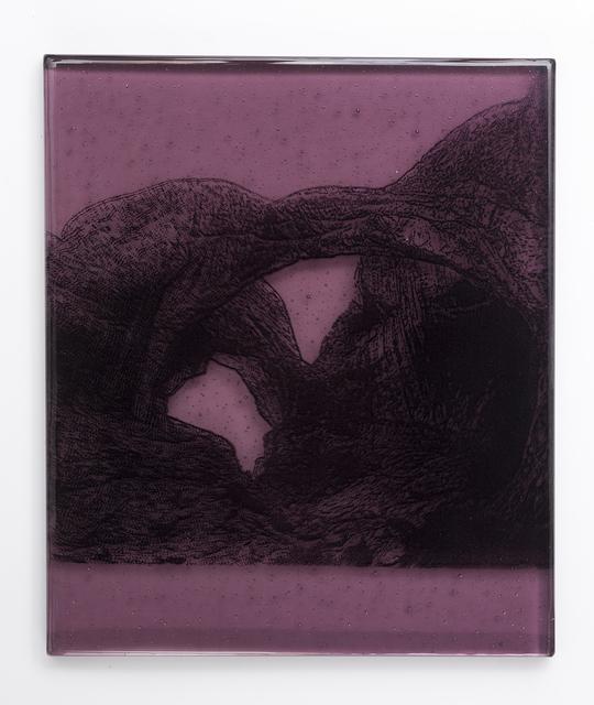 , 'Purple Double Arch,' 2018, Kopeikin Gallery