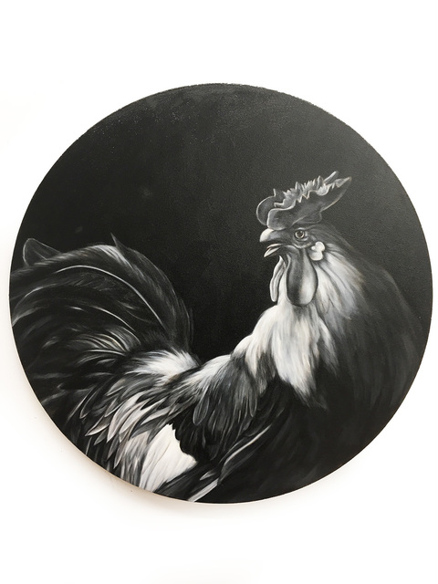 , 'Rooster (after Hondecoeter),' 2010, Visions West Contemporary