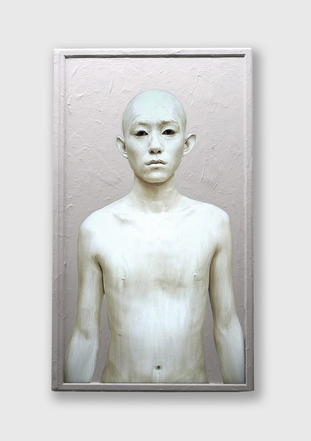 , 'Body Paint - 50inch/Male/White,' 2015, bitforms gallery