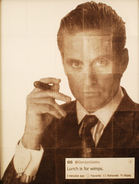 , 'Gordon Gekko,' 2013, Avant Gallery